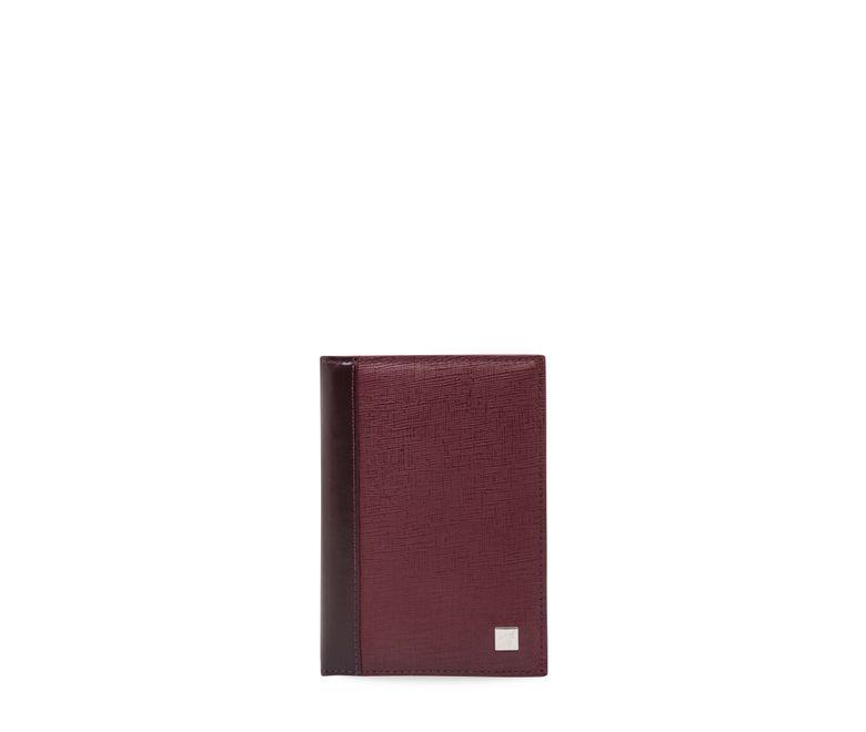 Porta-pasaporte-sencillo-borgoña-chicago