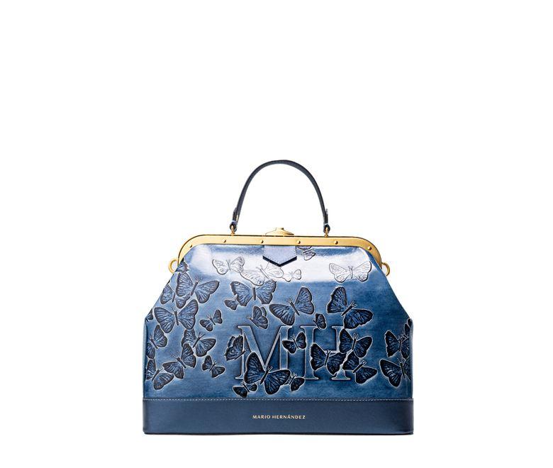 Satchel-barbara-azul-mariposas