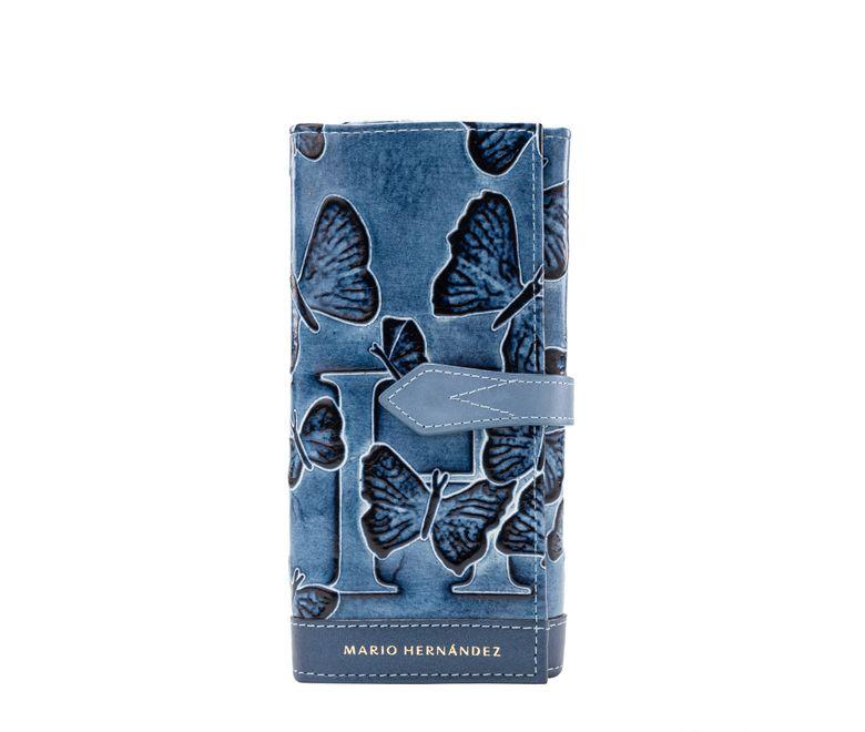 Billetera-poly-azul-mariposas